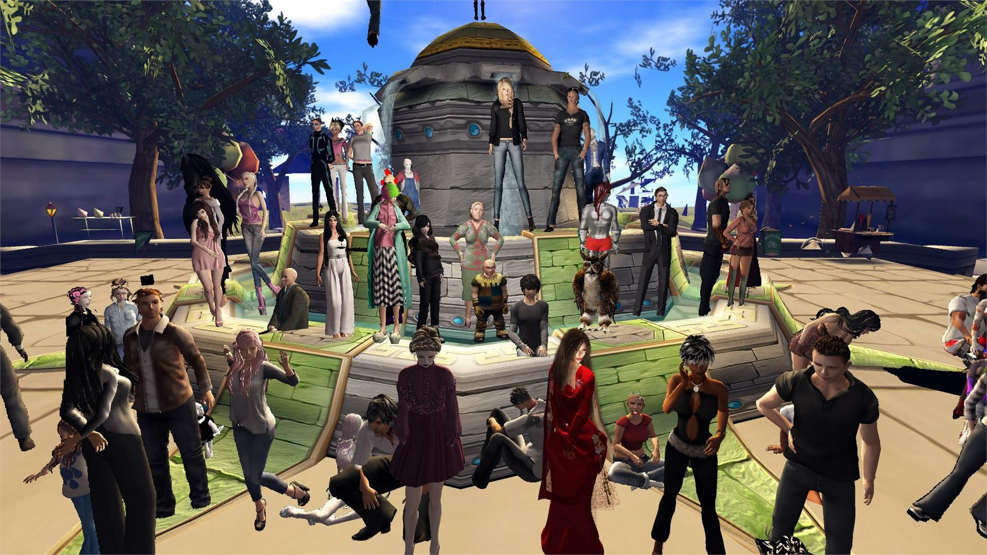 Avatars-crowd